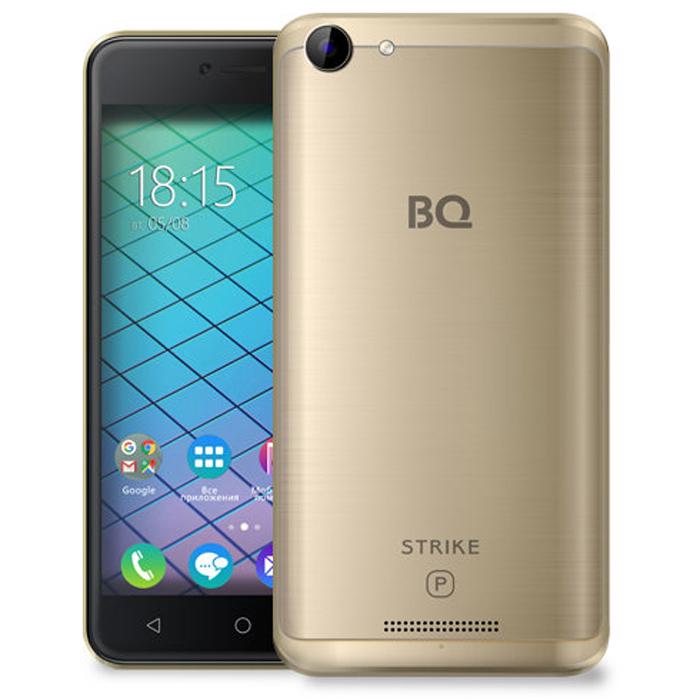 Смартфон BQ Mobile BQ-5059 Strike Power Gold Matt