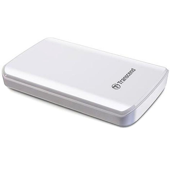 Внешний жесткий диск USB3.0 2.5″ 1.0Тб Transcend StoreJet 25D3 ( TS1TSJ25D3W ) Белый