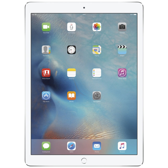 "Планшетный компьютер 12.9"" Apple iPad Pro 256Gb Flash WiFi Silver (ML0U2RU/A)"