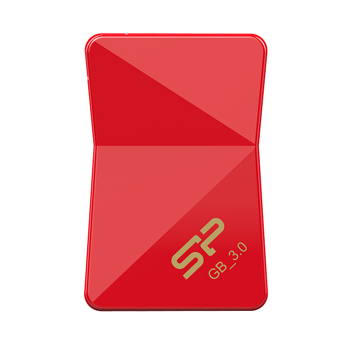 Флеш-диск 16GB Silicon Power Jewel J08 ( SP016GBUF3J08V1R ) USB 3.1 Красный