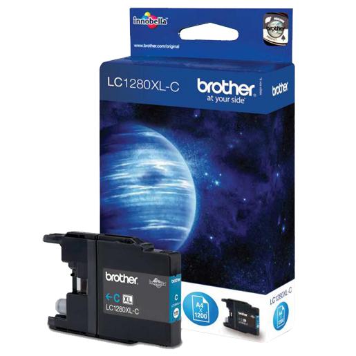 Картридж Brother LC-1280XLC Cyan