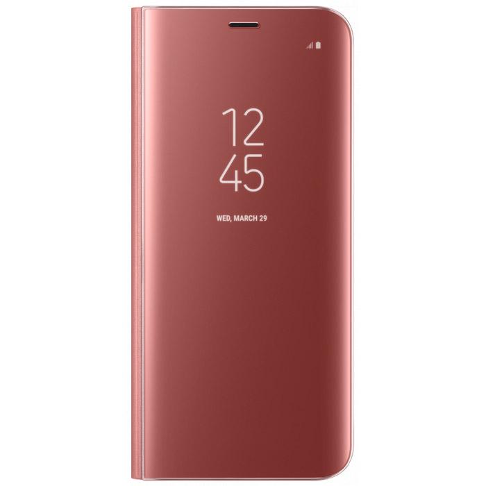 Чехол Samsung Clear View Standing Cover для Samsung Galaxy S8 SM-G950, розовый