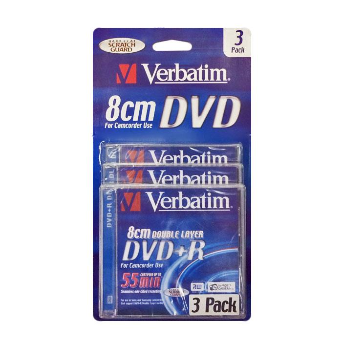 Оптический диск DVD+R Verbatim 4,7Gb 16x CakeBox (043629) 3шт