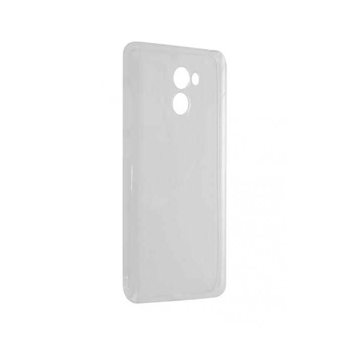 Чехол Gecko для Xiaomi Redmi 4A, Силиконовая накладка, прозрачно-глянцевая, белая