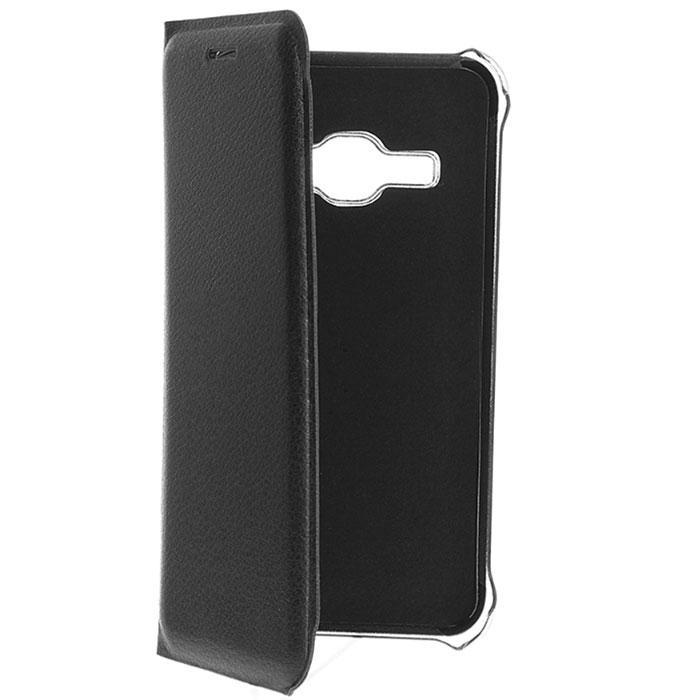 Чехол Acqua Wallet Extra для Samsung Galaxy J1 (2016) SM-J120F/DS, черный