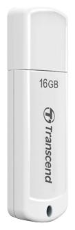 Флеш-диск 16Гб Transcend Jetflash 370 ( TS16GJF370 ) USB 2.0 Белый
