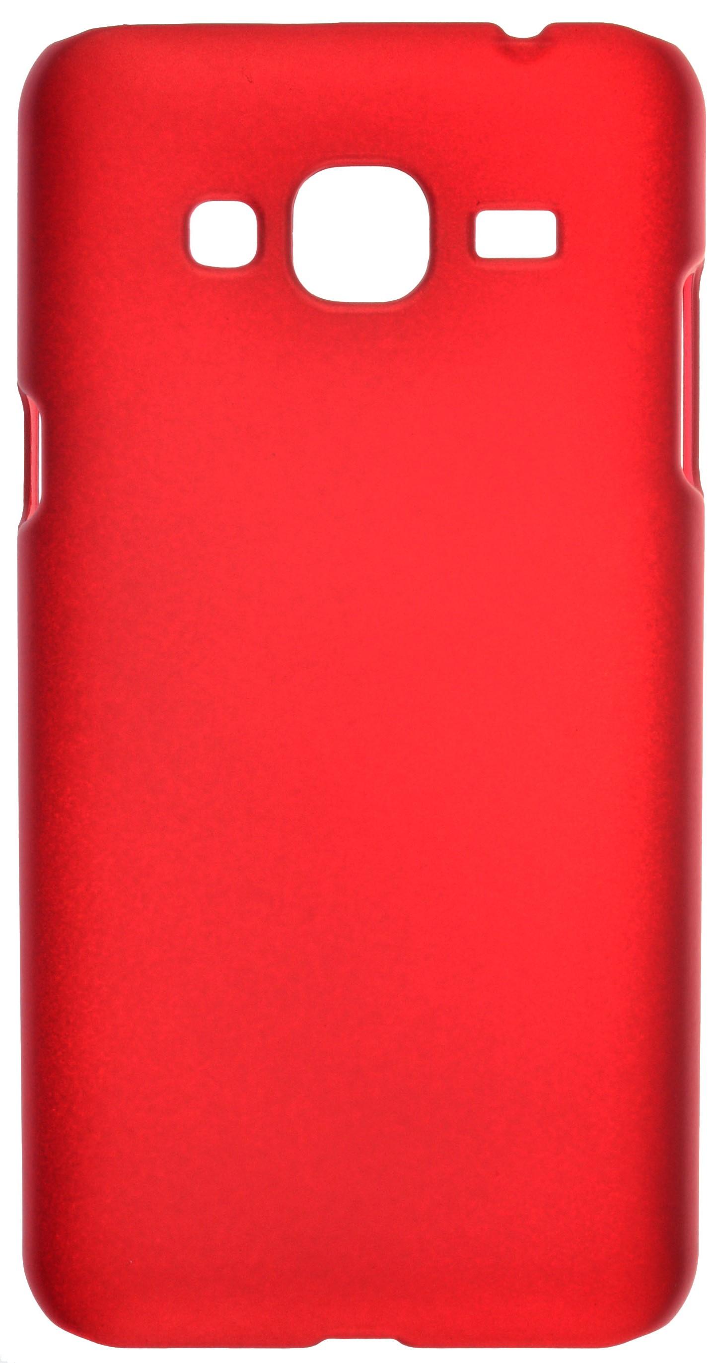 Чехол skinBOX 4People case для Samsung Galaxy J3 (2016) SM-J320F, красный