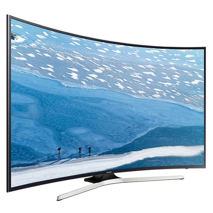 Телевизор ЖК 40″ Samsung UE40KU6300UX черный/серый