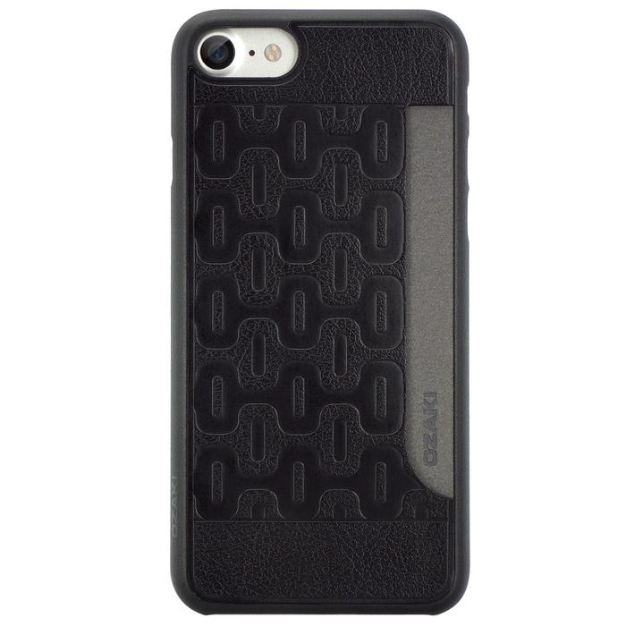 Чехол Ozaki O!coat 0.3 Pocket для iPhone 7, черный