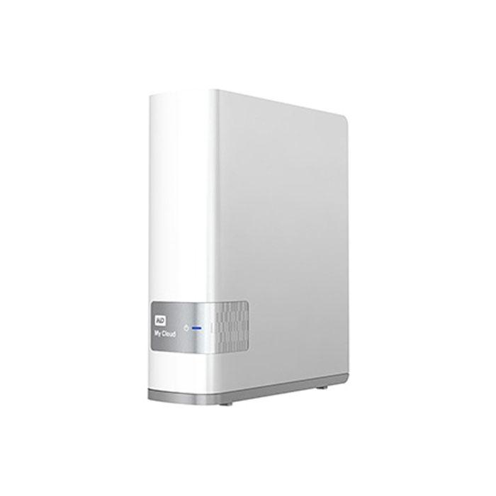 Внешний жесткий диск LAN 3.5″ 8.0Тб WD My Cloud ( WDBCTL0080HWT-EESN ) Белый