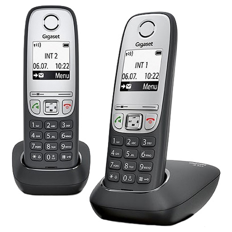 Телефон Dect Siemens A415 Duo black