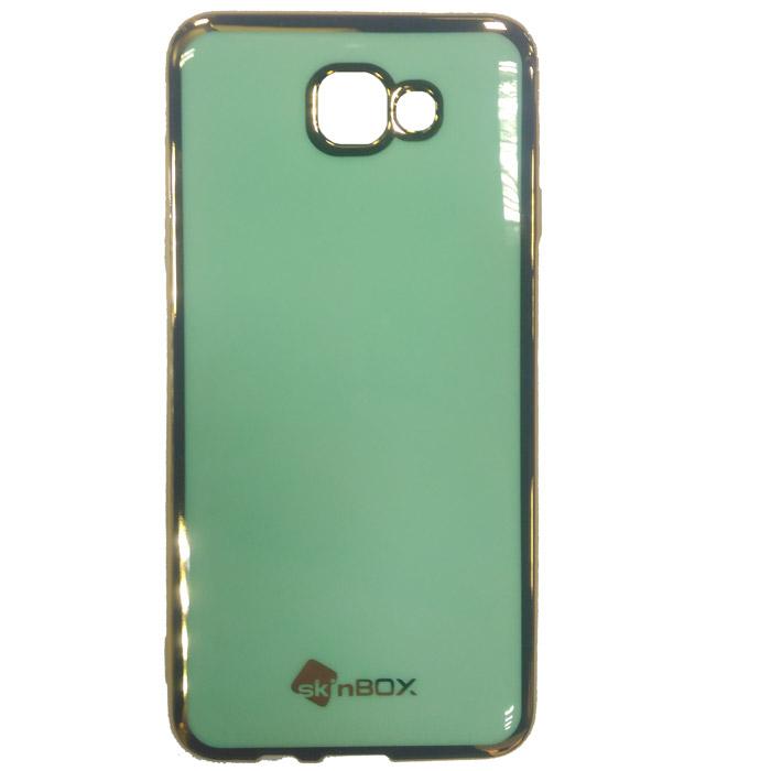 Чехол SkinBox Силиконовая накладка для Samsung Galaxy J5 Prime SM-G570F/DS, мятный
