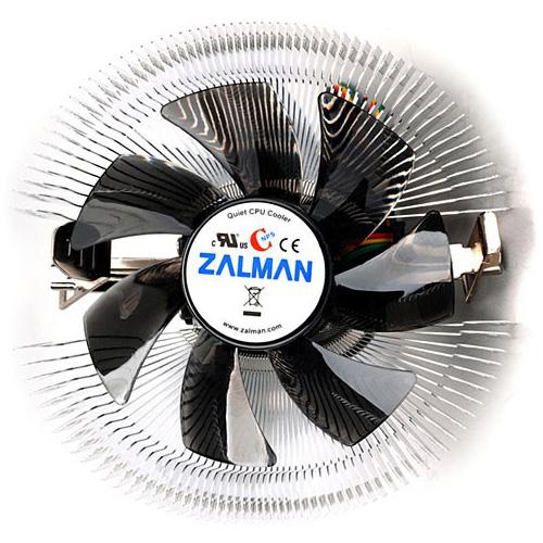 Устройство охлаждения(кулер) Zalman 7000V-Al PWM s.1156/1155/1150, s.775, AM3 ( CNPS7000V-Al PWM ) OEM низкопрофильный