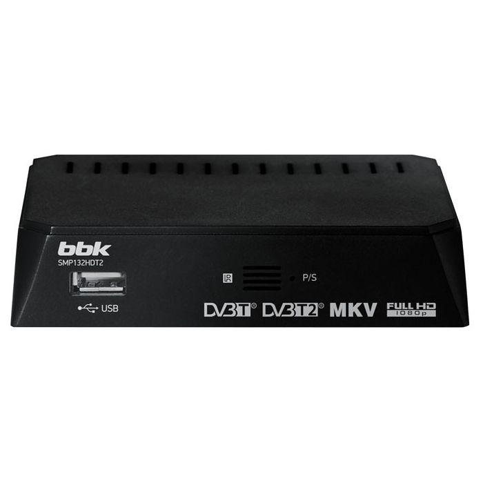 ТВ ресивер BBK SMP132HDT2 черный DVB-T2