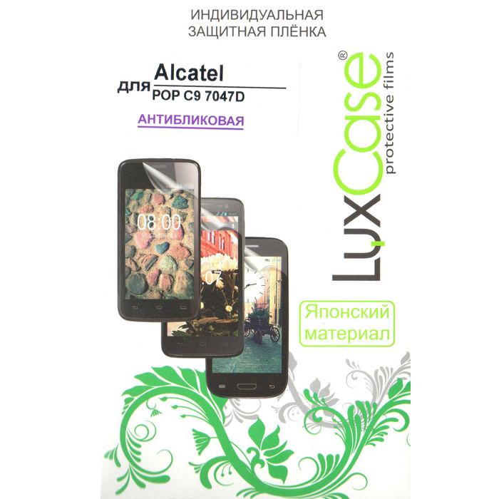 Защитная плёнка LuxCase для Alcatel One Touch Pop C9 7047D, Антибликовая
