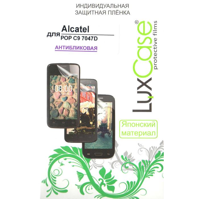 Защитная плёнка LuxCase для Alcatel One Touch Pop C9 7047D, Антибликовая