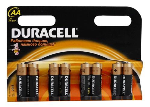 Батарейки Duracell LR6-8BL Basic AA 8шт.