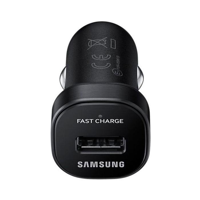 Зарядное устройство автомобильное Fastcharger Samsung EP-LN930BBEGRU microUSB, 1xUSB, 2А, черное