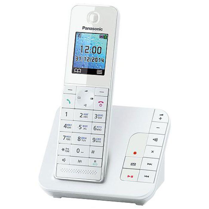 Телефон Dect Panasonic KX-TGH220RUW white