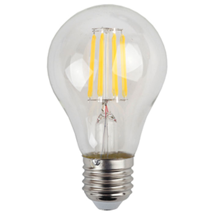 Светодиодная лампа ЭРА F-LED A60 E27 9W 220V желтый свет