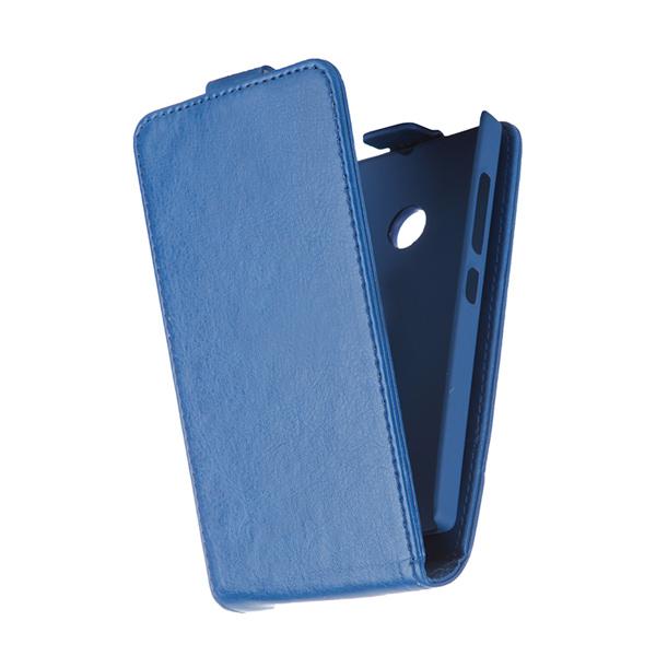 Чехол SkinBox Flip для Nokia Lumia 435/Lumia 532, синий