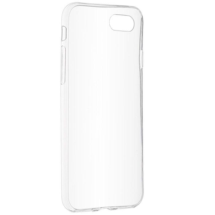 Чехол skinBOX slim silicone 4People для iPhone 7, прозрачный