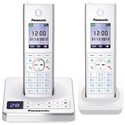 Телефон Dect Panasonic KX-TG8562RUW white