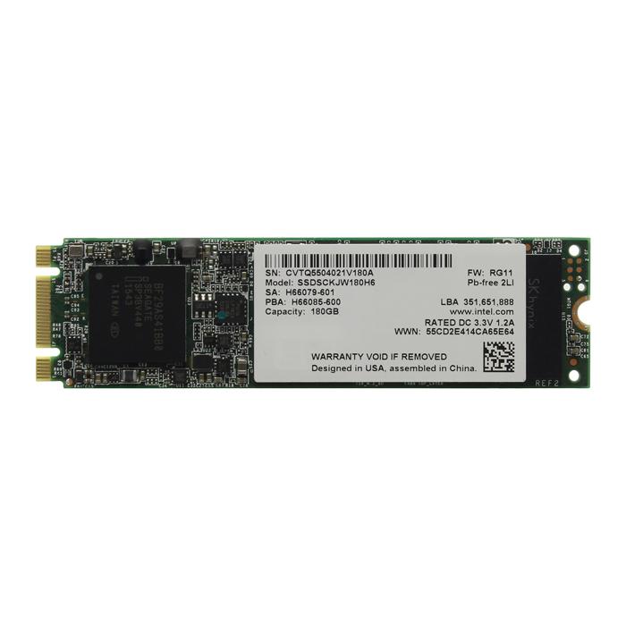 Накопитель SSD M.2 SATA3 180Гб Intel 535-Series [ SSDSCKJW180H601 ]