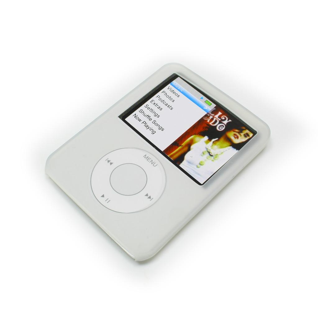 Чехол BagSpace для iPod nano 3 силиконовый white