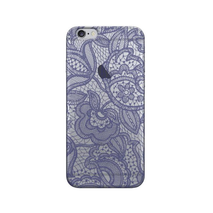 Чехол Deppa Art Case с пленкой для iPhone 6 / iPhone 6s, Boho, Кружево темное