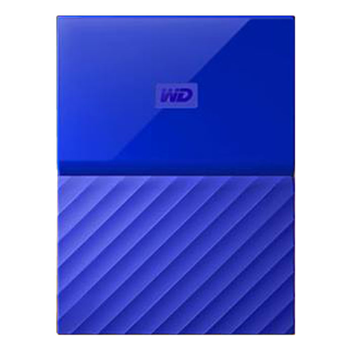 Внешний жесткий диск USB3.0 2.5″ 3Тб WD My Passport ( WDBUAX0030BBL-EEUE ) Синий