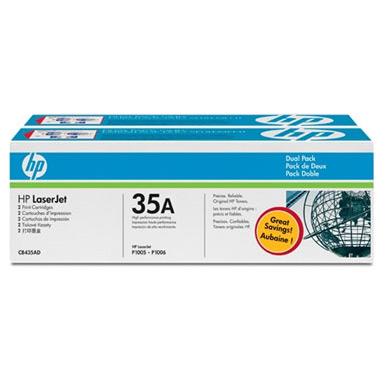 Картридж HP CB435AF №35A двойная упаковка
