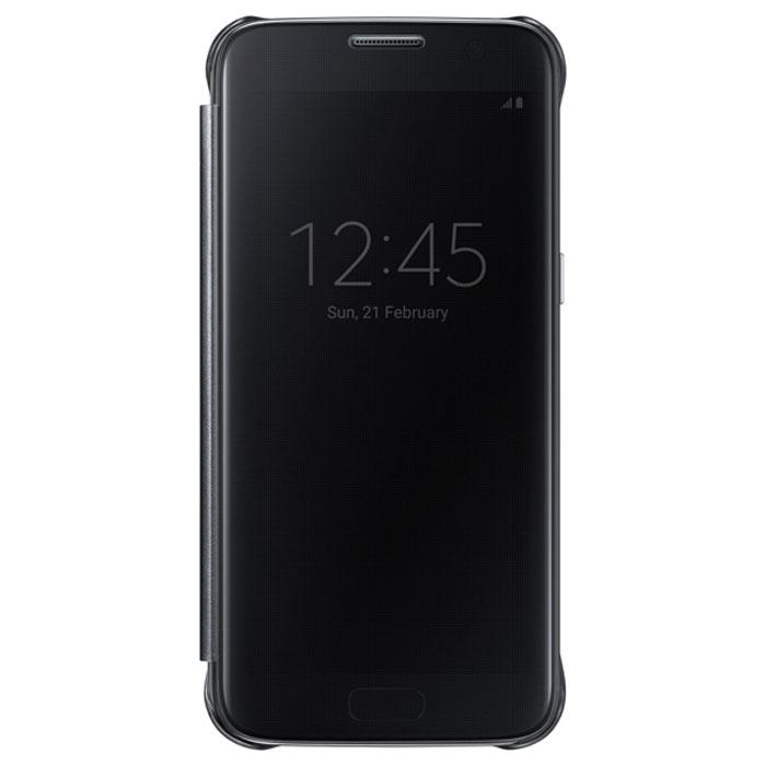 Чехол Samsung Clear View Cover для Samsung G930F Galaxy S7, чёрный