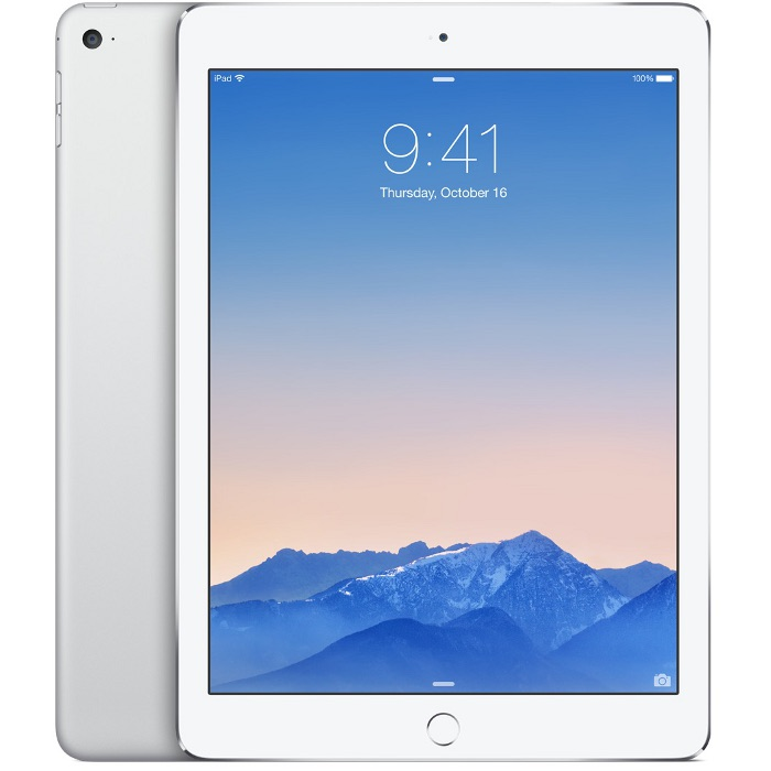 "Планшетный компьютер 9.7"" Apple iPad Air 2, 128Гб Flash, Cellular, Silver ( MGWM2RU/A)"
