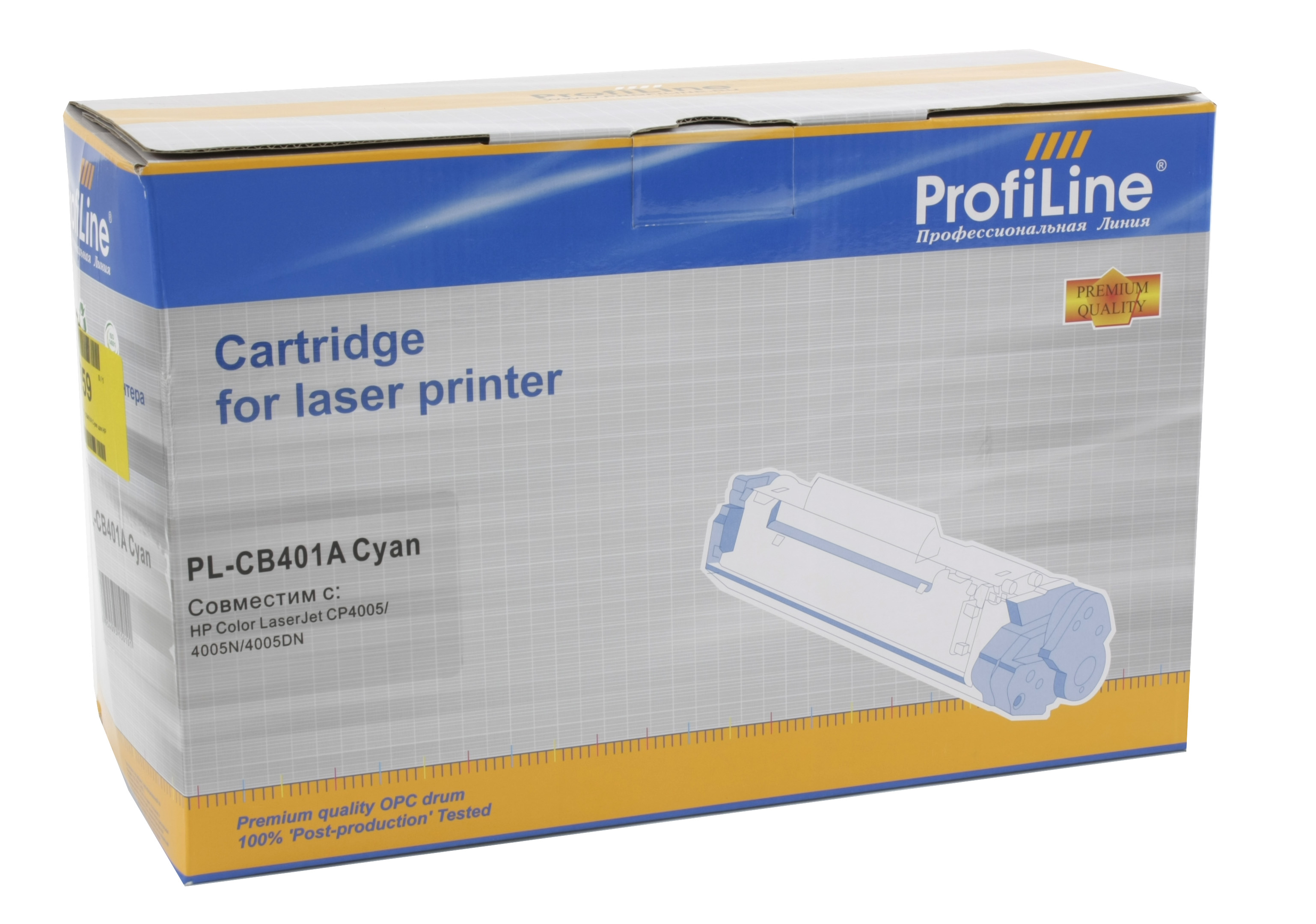 Картридж ProfiLine PL-CB401A Cyan