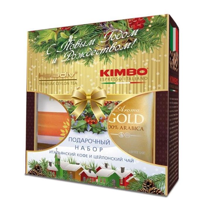 Подарочный набор Kimbo Aroma Golg+Heladiv