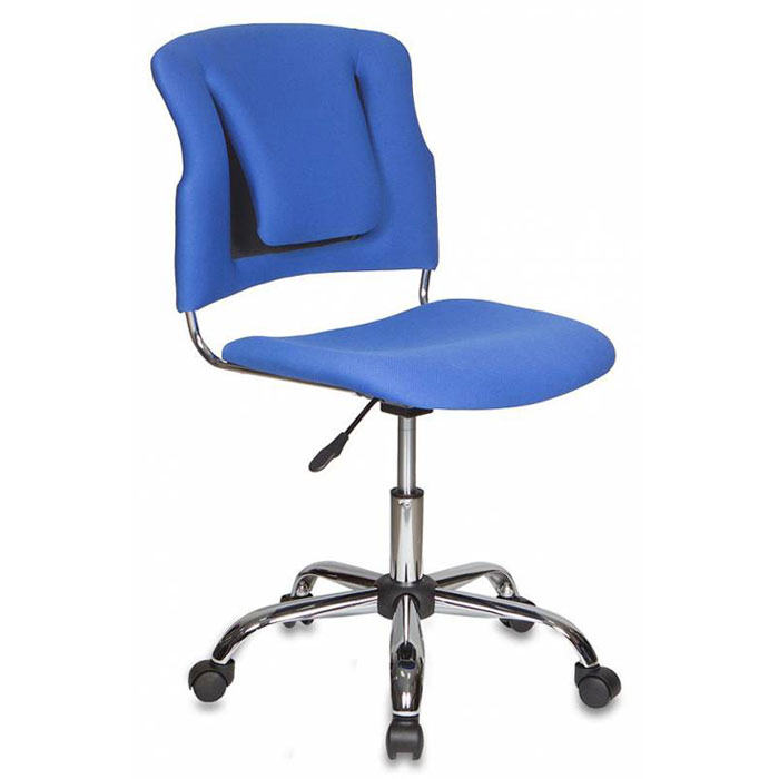 Кресло офисное Бюрократ CH-H322SXN/Indigo спинка динамичная поддержка синий 26-21 крестовина хром