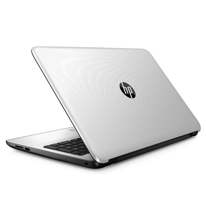Ноутбук 15,6″ HP 15-ay511ur Intel N3710/4Gb/500Gb/15.6″/Win10 белый металлик ( Y6F65EA )