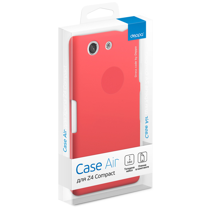 Чехол Deppa Air Case для Xperia Z4 Compact, красный