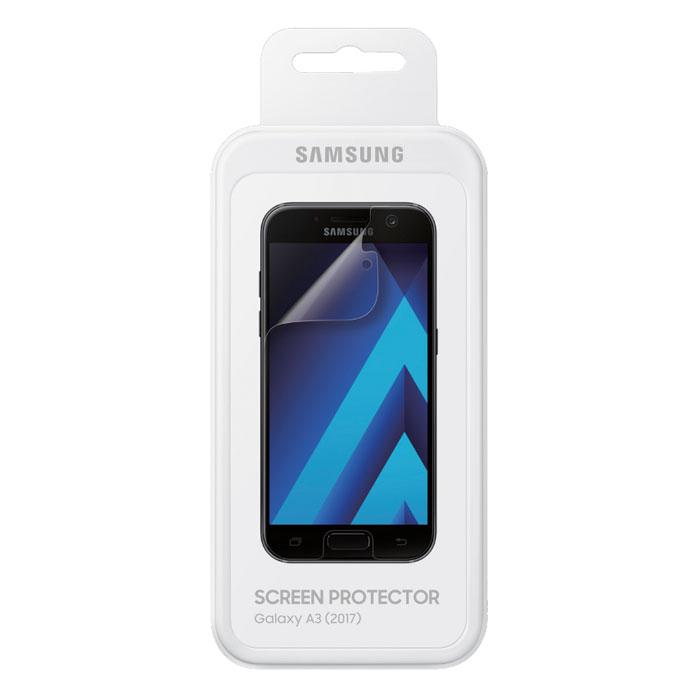 Защитная плёнка Samsung для Galaxy A3 (2017) SM-A320F, 2 шт, прозрачная