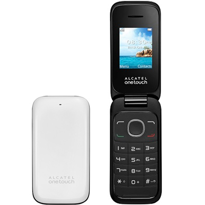 Сотовый телефон Alcatel One Touch 1035D белый