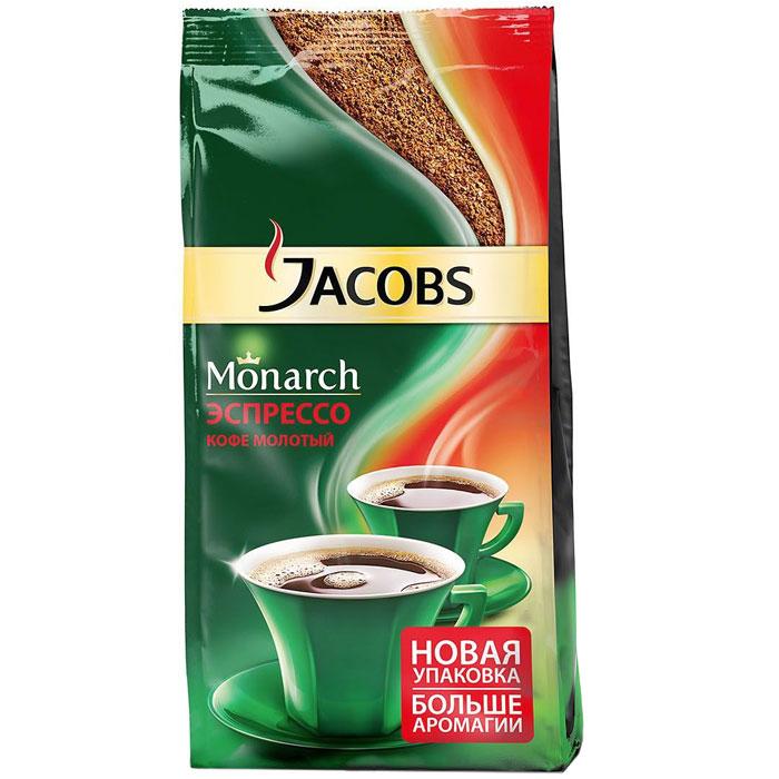 Кофе молотый Jacobs Monarch эспрессо 230 гр