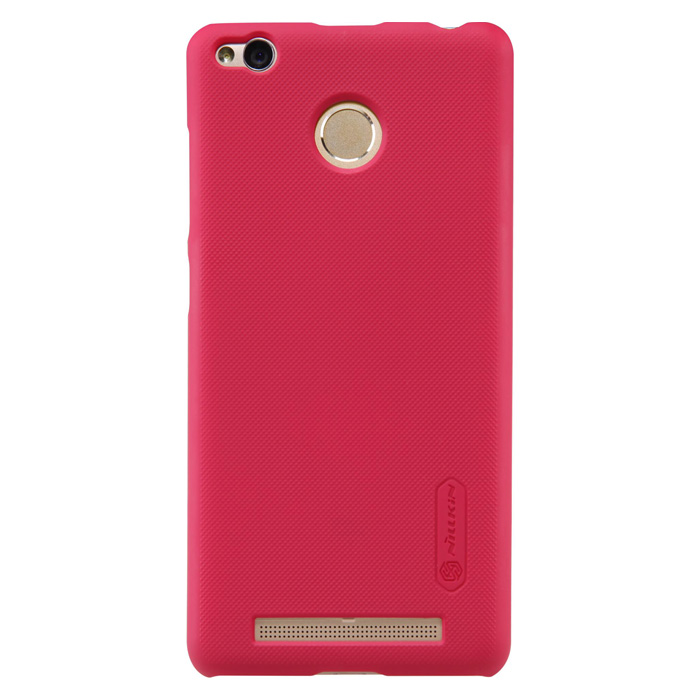 Чехол Nillkin Super Frosted Shield Case для Xiaomi Redmi 3s/Pro, красный