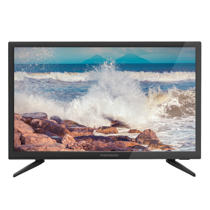 Телевизор ЖК 22″ Thomson T22D16DF-02B черный
