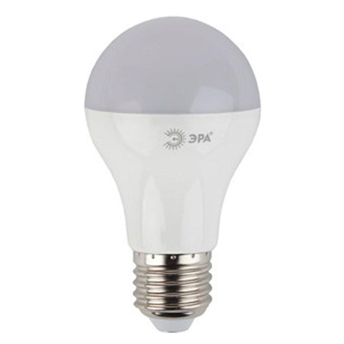 Светодиодная лампа ЭРА A60 E27 13W 220V желтый свет