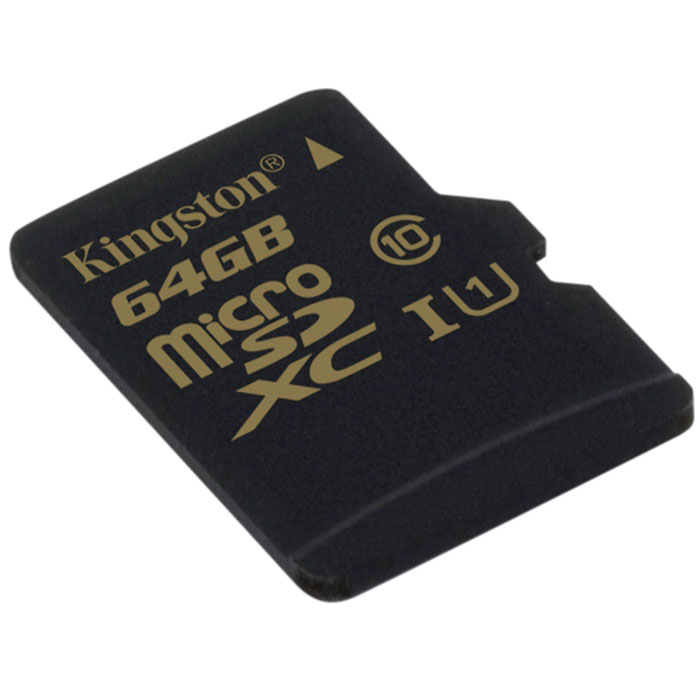Флеш-карта microSDHC 64Гб Kingston , UHS-1, Class 10 ( SDCA10/64GBSP )