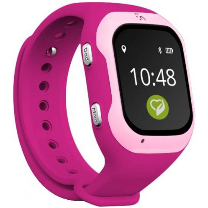 Умные часы Кнопка жизни K917 розовый