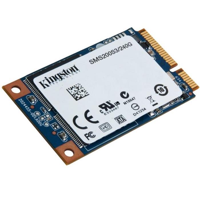 Накопитель 2.5″ SSD mSATA3 240Гб Kingston mS200 ( SMS200S3/240G )