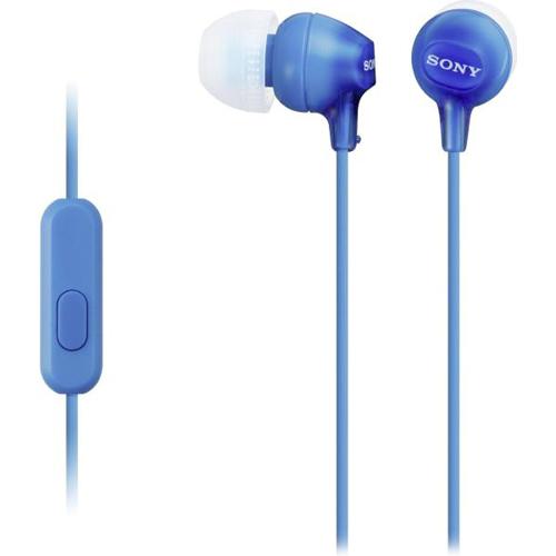 Гарнитура Sony MDR-EX15APLI синяя