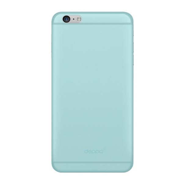 Чехол Deppa Sky Case 0.4 с пленкой для iPhone 6 Plus/ iPhone 6s Plus, мятный
